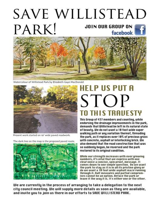 Save Willistead Park