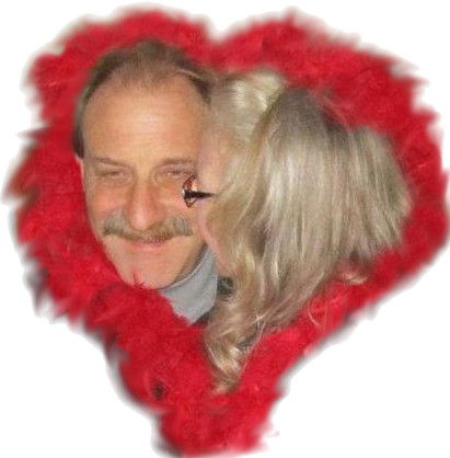 Lovebirds, Allan & Patty Kotow.  Friends and lovers for 49 years.
